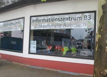 Info-Zentrum B3 Auerbach