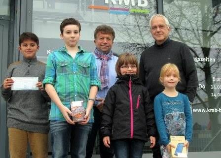 Tag der offenen Tür: KMB übergibt Preise an die Gewinner der Quiz-Rallye
