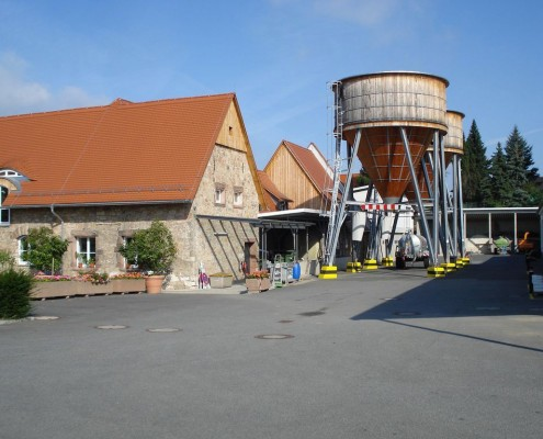 Bauhof Salzsilos